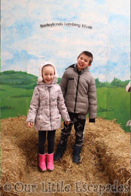 ethan little e barleylands lambing week barleylands farm park