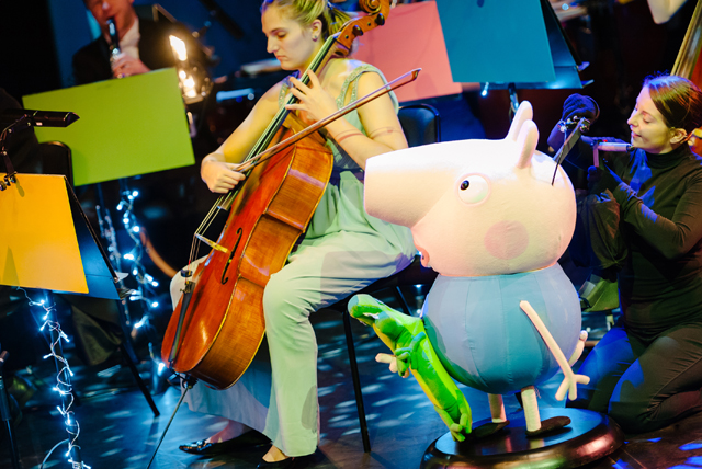george pig orchestra