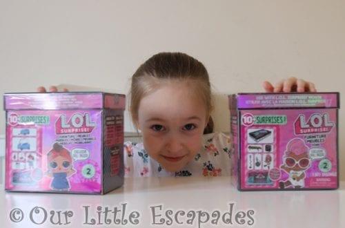 little e lol surprise furniture packs