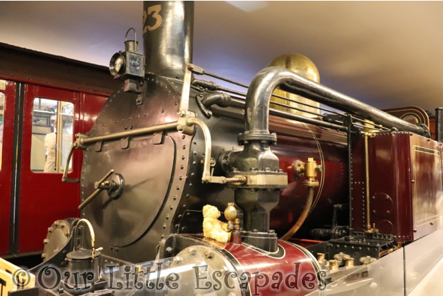 metropolitan number 23 1860s underground steam engine