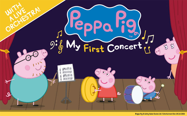 peppa pig my first concert