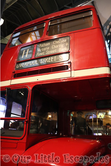 routemaster london transport museum