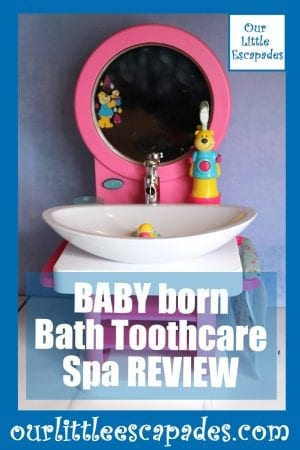 BABY born Bath Toothcare Spa REVIEW