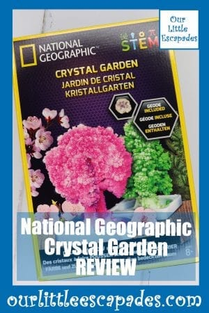 National Geographic Crystal Garden REVIEW