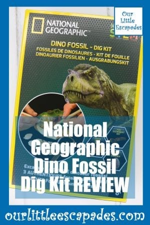 National Geographic Dino Fossil Dig Kit REVIEW