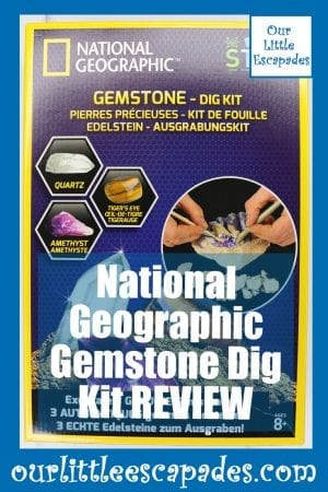 National Geographic Gemstone Dig Kit REVIEW