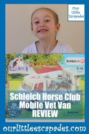 Schleich Horse Club Mobile Vet Van REVIEW
