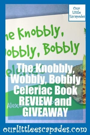 The Knobbly Wobbly Bobbly Celeriac Book REVIEW and GIVEAWAY
