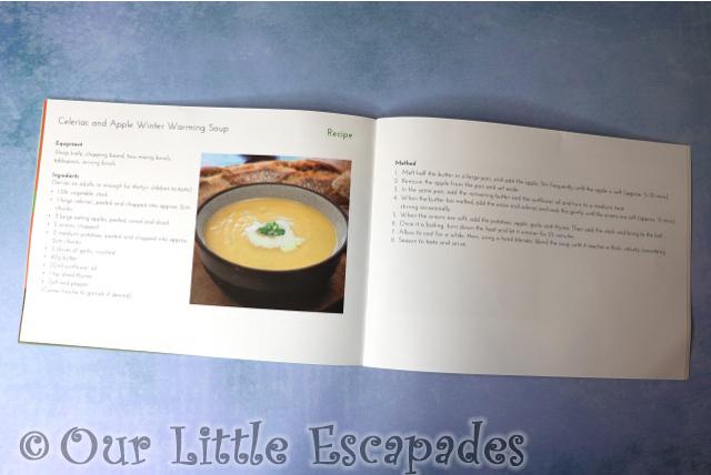 celeriac apple winter warming soup