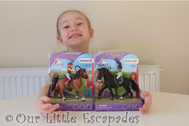 little e schleich horse club figures