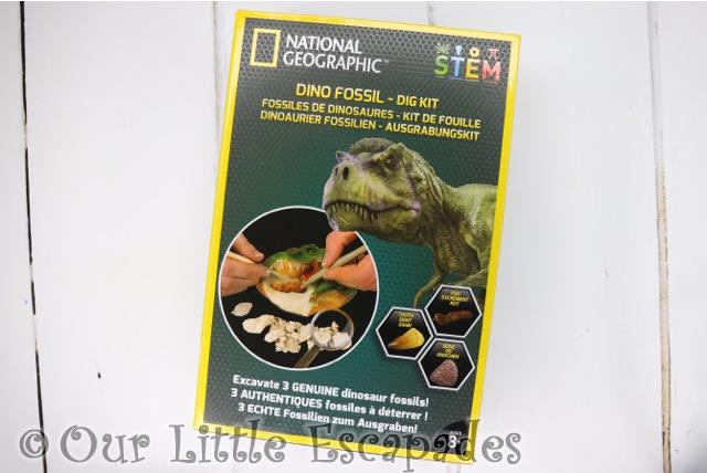 national geographic dino fossil dig kit stem kit