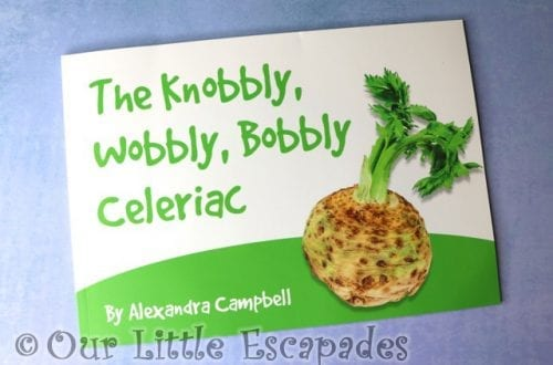 the knobbly wobbly bobbly celeriac