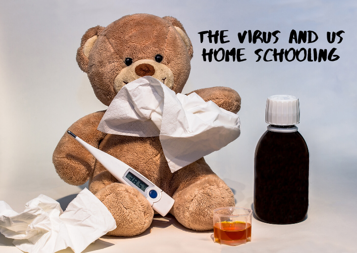 the virus and us home schooling