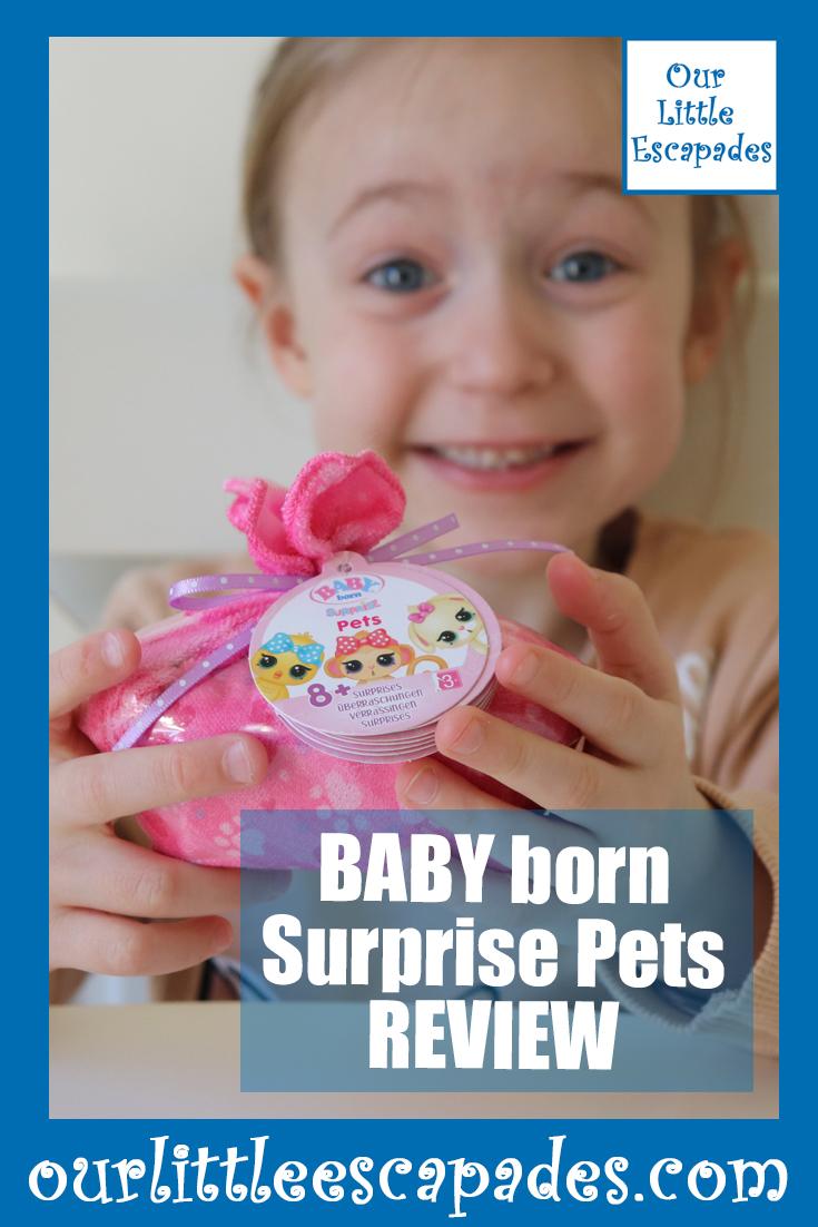 BABY born Surprise Pets REVIEW