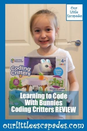 Learning to Code With Bunnies Coding Critters REVIEW