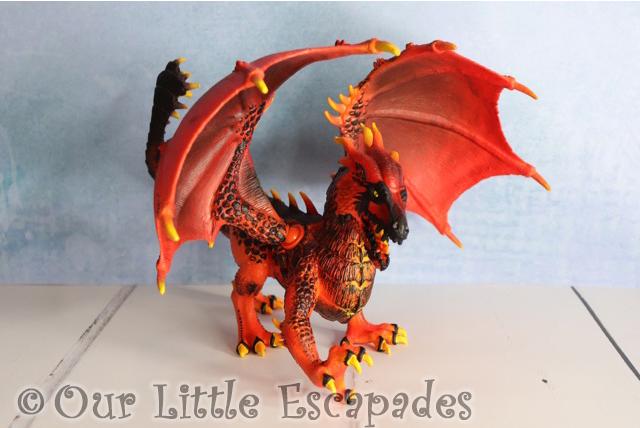 lava dragon schleich eldrador creatures