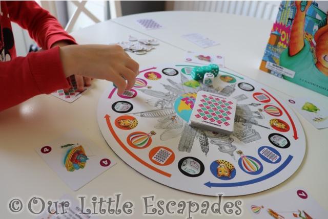 little e playing rat-a-tat roll
