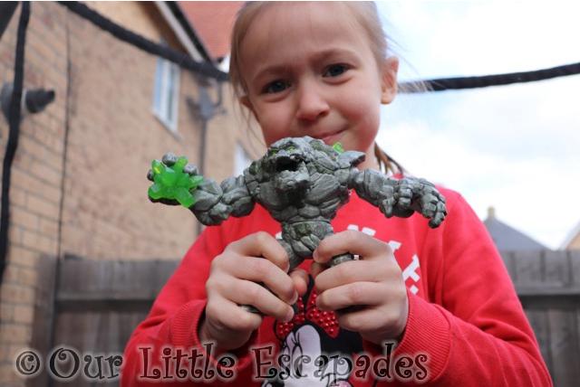 little e stone monster schleich eldrador creatures