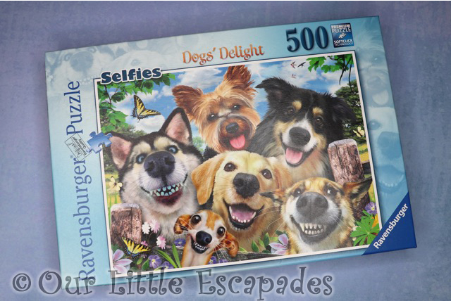 ravensburger dogs delight puzzle box