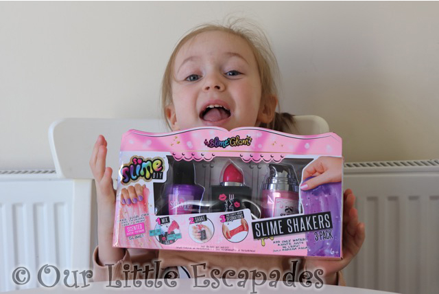 little e so slime diy glam shakers boxed